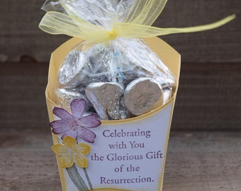 Easter Party Favor, Easter Treat Box, Resurrection Treat Box, Easter Sunday Party Favor