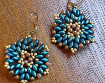 Tutorial for Super Douper Duo Earrings