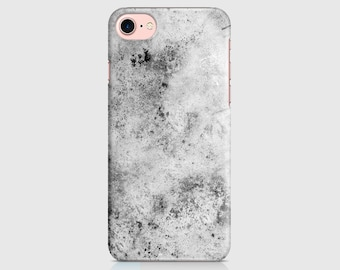 Splattered Grey Design, Marble Print, Marble Design, Protective Phone Case, iPhone Cover, iPhone 7 iPhone 6 iPhone 5 \ hc-pp031