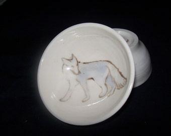 little silver fox bowl