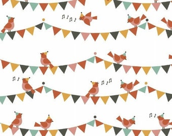 Windham Fabrics presents Party Animals by petitcollage - 100% Gots Certified Organic Cotton