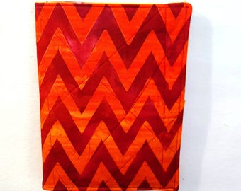 List Taker Organizer Coupon Holder Notepad Clutch - Chevrons