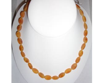 Raw Baltic Amber Necklace, Honey Amber Healing Necklace, Pain Relief, Headache, Back Pain, Shoulder Pain, Reduce Swelling, *PREMIUM QUALITY*