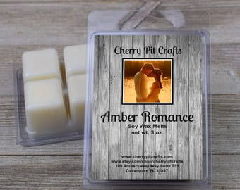 Amber Romance Soy Wax Melts - Handmade Soy Wax Melts
