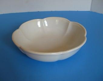 Serving Dish, ON SALE...Vintage McCoy Pottery Scalloped Bowl