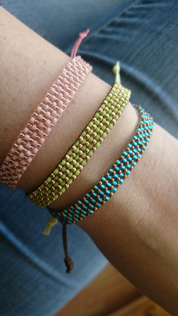 how to make a cord bracelet with beads