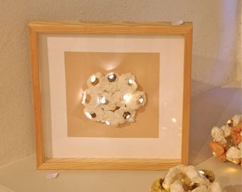 Bright 'Bouquet' - harmony Beige frame