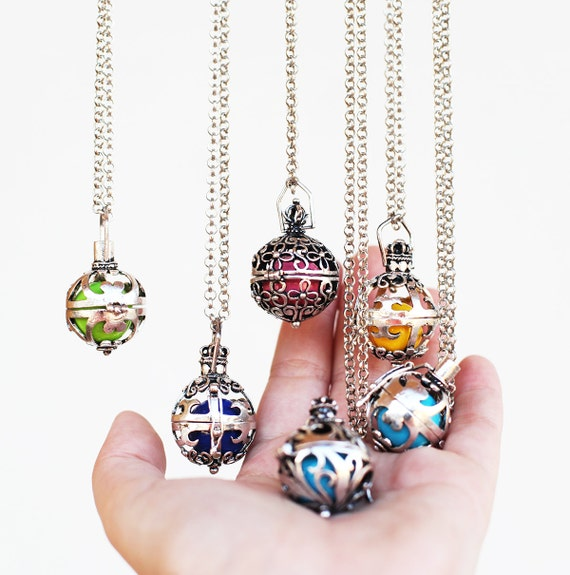 Pregnancy maternity angel caller ball necklace harmony ball aloadofball Image collections