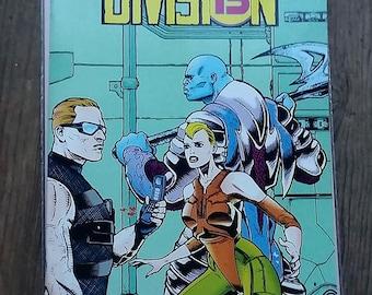 division 13 week 1//1993//darkhorse comics//vintage//paper