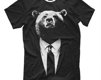 Business Bear T-shirt