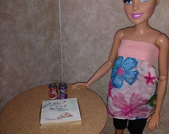 SD ou AG Pizza et boissons gazeuses