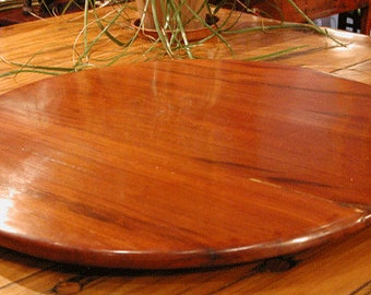 Lazy Susan - 24IN -  Cherry - Handmade - FREE SHIPPING!