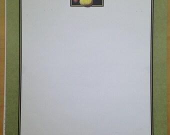 8.5x11 Fruit Framed Print Paper