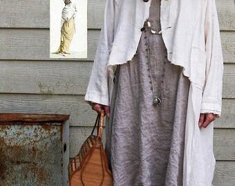 Marisha Jacket TG-A3129 Sewing Pattern by Tina Givens- Lagenlook Style!