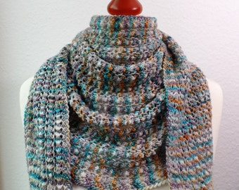 "Scarf ""Anita"" by hand-dyed and fair-trade wool ""Alegria"" Manos del Uruguay"