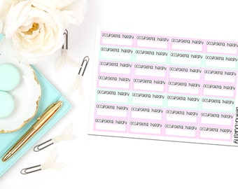 Occupational Therapy Appointment Box Planner Stickers