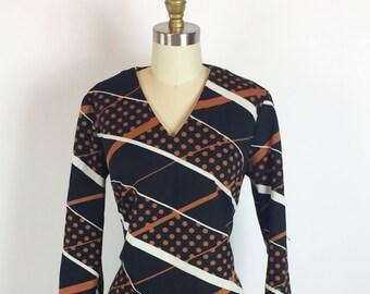 Mister Robert Vintage 1960s Mod Dress