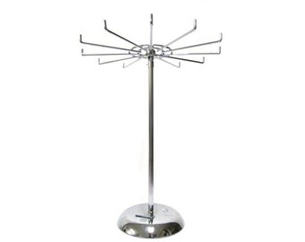 12 Hook Spinning Counter top Rack, Scarf Rack