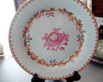 "Vintage Avon ""Abigail Adams"" Porcelain Collector's Plate - The Peabody Museum of Salem - Circa 1985 - Excellent Condition!!"