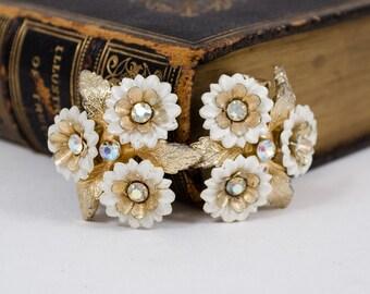 1950s vintage earrings / clip on earrings / Coro