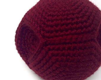 Wizard Sport Ball, large, handmade crochet  || Ready to Ship