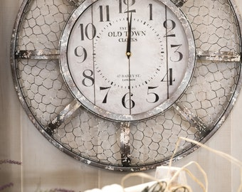 digital download, clock, kitchen, vintage, white, Time for dinner?