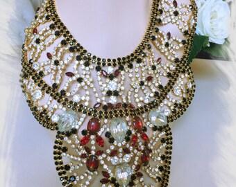 MASSIVE DOMINIQUE Bib Necklace - Incredible!!