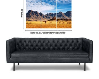 Mountains / 3 in 1 / Three - 11 x 17 / 11x17 GLOSSY Photo Pictures