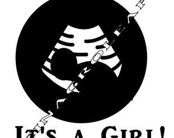 Ultrasound - Its a Girl