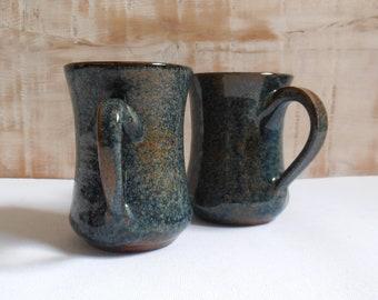 Vintage ceramic - mug tea coffee - craft France mugs