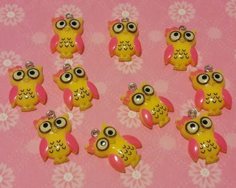 Charm OWL - set of 10