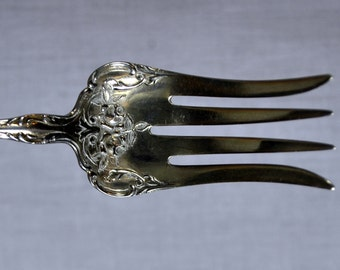 Sterling Silver Milton Kohler Serving Fork - Antique Silverware