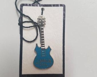 Jerry Garcia 2014 Blue Guitar Pin