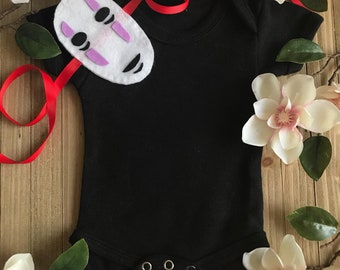 Spirited Away No Face baby cosplay costume