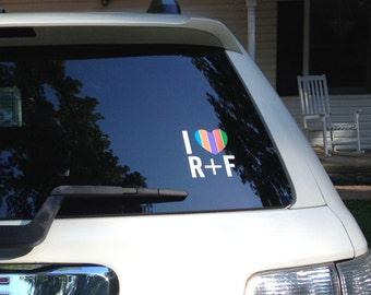 R&F Vehicle decal