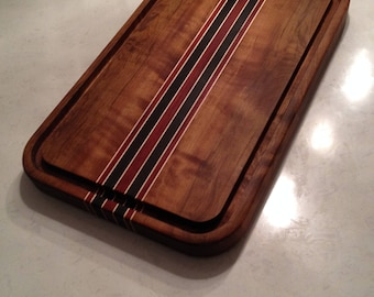Large Roasted Tiger Maple Cutting board