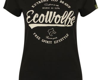 Woman's Organic T-Shirt, 100% Organic Cotton Custom Tee, Womans Graphic Tee, Bespoke Tee