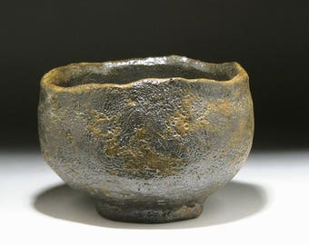 Wood Fired Tea Bowl. Chawan. Tenmoku