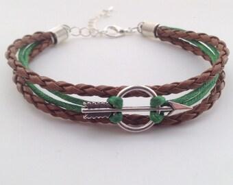 Arrow Bracelet - Robin Hood Bracelet - Bohemian Bracelet - Boho Bracelet - Tribal bracelet - native bracelet - celtic bracelet - irish