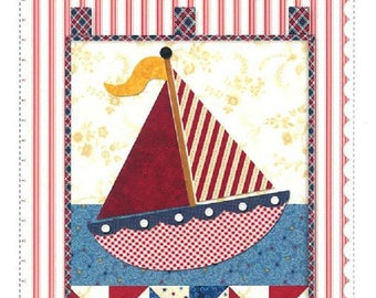 Quilt Pattern - Little Blessings - Smooth Sailing by Shabby Fabrics
