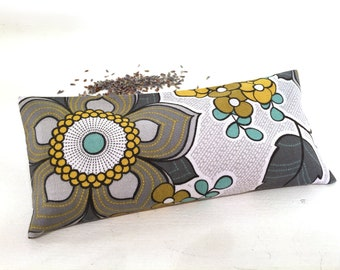 Organic Lavender Eye Pillow, heat pack, cold pack, aromatherapy heat pack, meditation, yoga gift, yoga accessory, relaxation, restorative