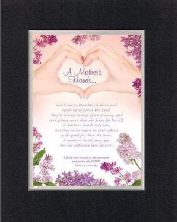 Heartfelt Poem For Mothers A Mother S Hand Reach Out