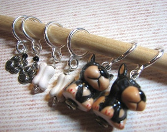 Stitch Markers for Dog Lovers