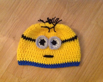 Crochet minions hats