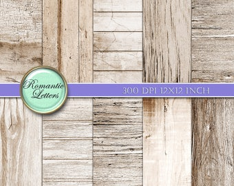 Printable scrapbook paper background digital paper pack wedding printable scrapbook album paper printable paper vintage wood sepia