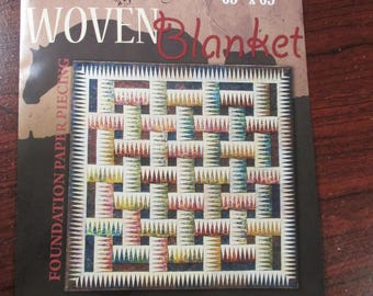 Woven Blanket Foundation Paper Piecing Pattern