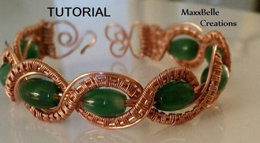 Tutorial Braided Wire Weave Bracelet