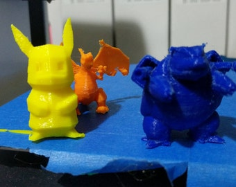 Pack of five assorted Pokemon party favors. Pokemon toys perfect for birthday parties.