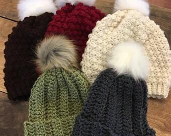 Pompom Hats