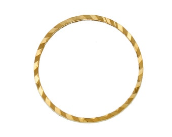 5 frames gold 12mm round shape